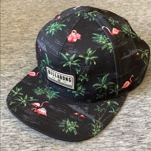Billabong Flamingo Snapback Hat